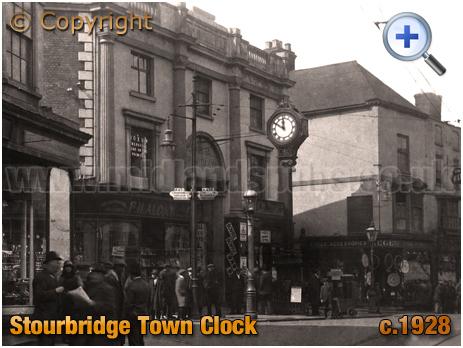 Stourbridge : Market Hall and Town Clock [c.1928]