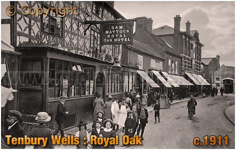 Tenbury Wells : Royal Oak Hotel [c.1911]