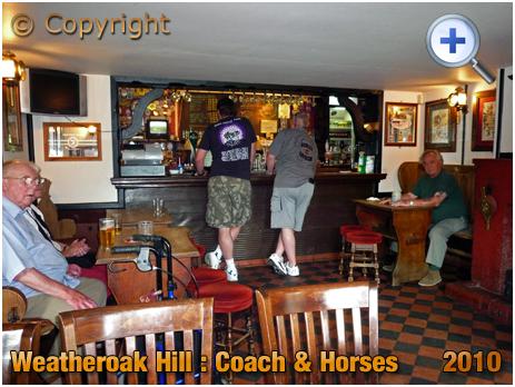 Weatheroak Hill : Bar of the Coach and Horses [2010]