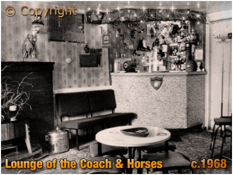 Weatheroak Hill : Lounge of the Coach and Horses [c.1968]