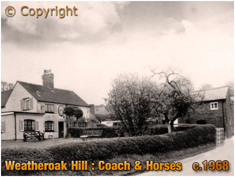 Weatheroak Hill : Coach and Horses [c.1968]