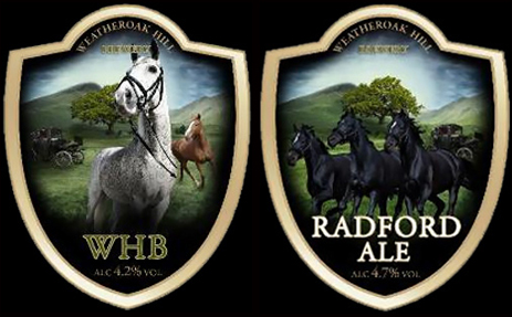 Pump Clips of the Weatheroak Hill Brewery [2010]