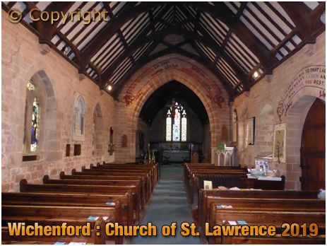 Wichenford : Church of Saint Laurence [September 2019]