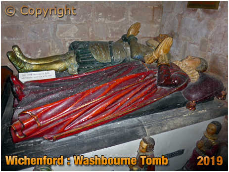 Wichenford : Washbourne Tomb in the Church of Saint Laurence [September 2019]