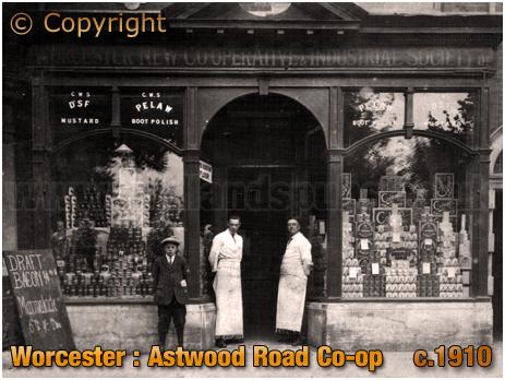Worcester : Astwood Road Co-op Shop [c.1910]