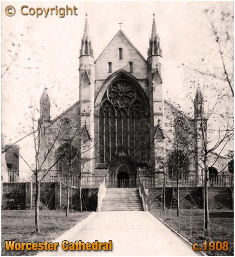 Worcester Cathedral [c.1908]
