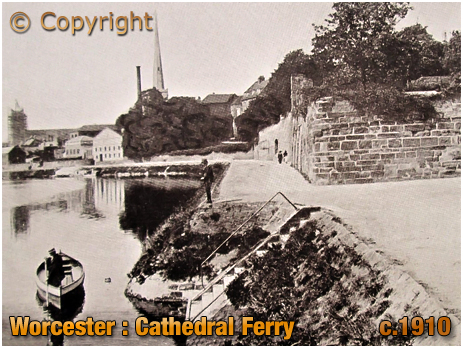 Worcester : Cathedral Ferry [c.1910]