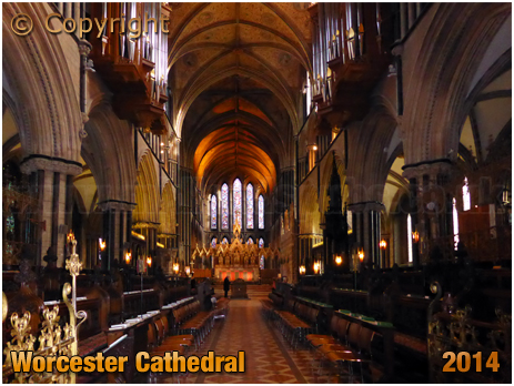 Worcester : Cathedral Nave [2014]