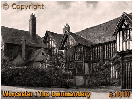Worcester : The Commandery [c.1910]