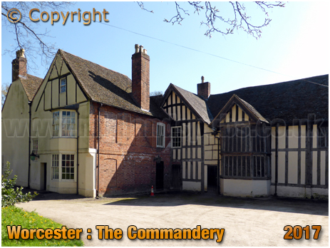Worcester : The Commandery [2017]