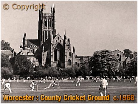 Worcester : County Cricket Ground [c.1968]