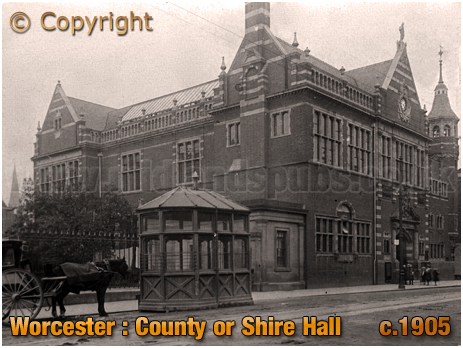 Worcester : County or Shire Hall [c.1905]