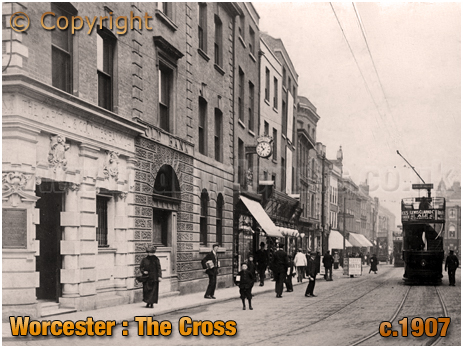 Worcester : The Cross [c.1907]