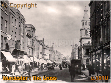Worcester : The Cross [c.1910]