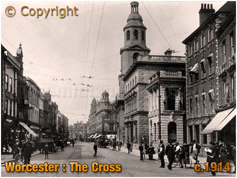 Worcester : The Cross [c.1914]