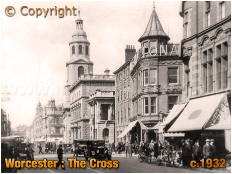 Worcester : The Cross [c.1932]