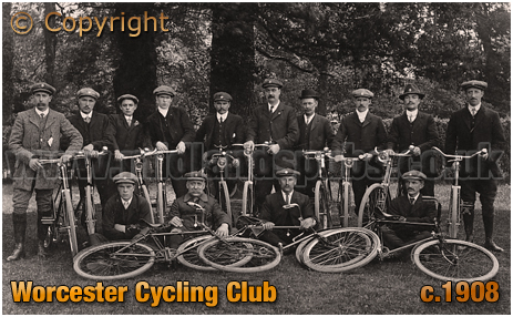 Worcester Cycling Club [c.1908]