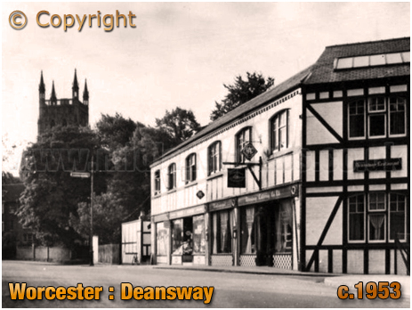 Worcester : Deansway [c.1953]