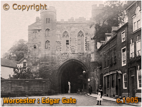 Worcester : Edgar Gate [c.1905]