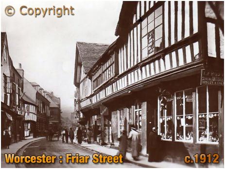 Worcester : Friar Street [c.1912]