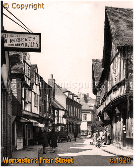 Worcester : Friar Street [c.1928]