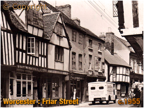 Worcester : Friar Street [c.1955]