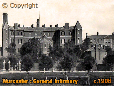 Worcester : General Infirmary [c.1906]