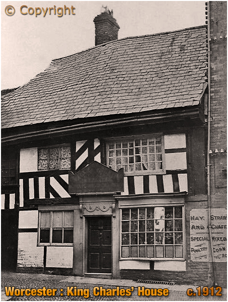 Worcester : King Charles' House [c.1912]