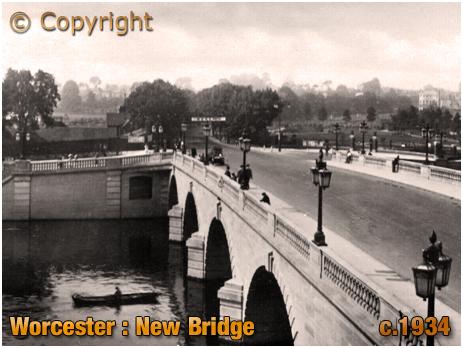 Worcester : New Bridge [c.1934]