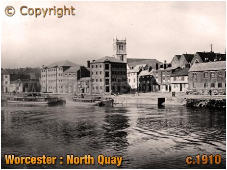 Worcester : North Quay [c.1910]