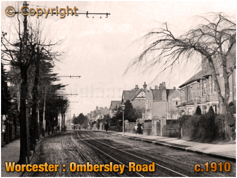 Worcester : Ombersley Road [c.1910]
