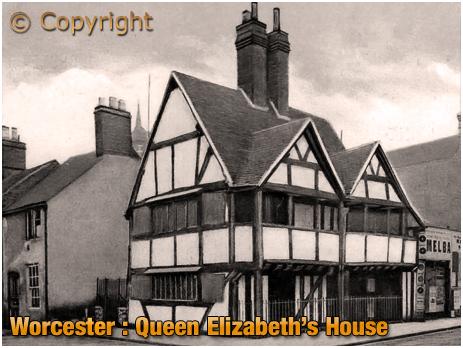 Worcester : Queen Elizabeth's House [c.1910]