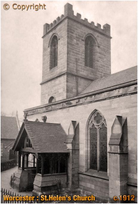 Worcester : Saint Helen's Church [c.1912]