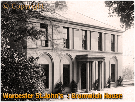 Worcester St. John's : Bromwich House [c.1910]