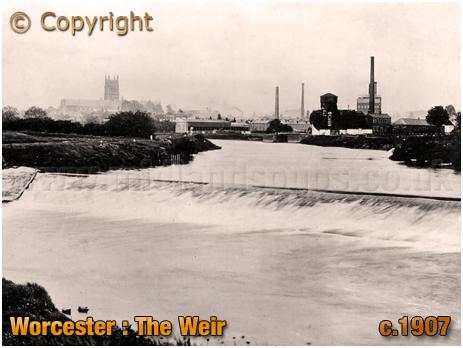 Worcester : The Weir [c.1907]