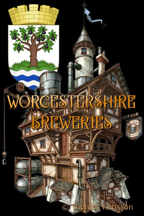 Worcestershire Breweries [© Illustration by Thomas Karlsson]