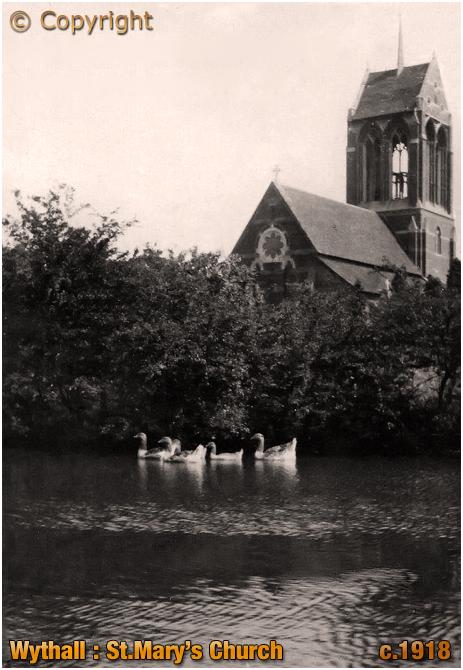 Wythall : Church of Saint Mary [c.1918]