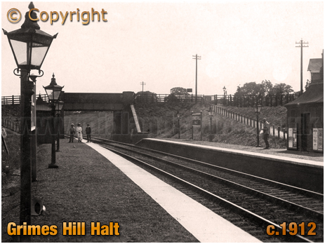 Wythall : Grimes Hill Halt [c.1912]