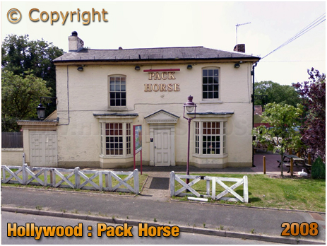 Wythall : The Pack Horse at Hollywood [2008]
