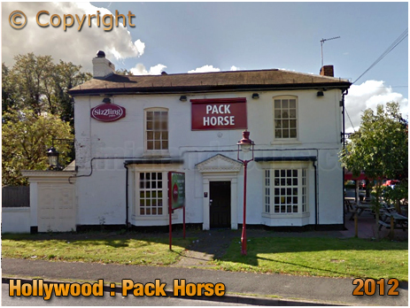 Wythall : The Pack Horse at Hollywood [2012]