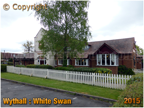 Wythall : White Swan at Drake's Cross [2015]
